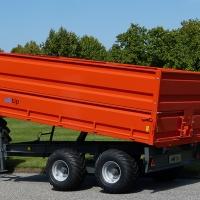 MI Tip Hobby Farmer 10 ton tippvagn med påbyggnad