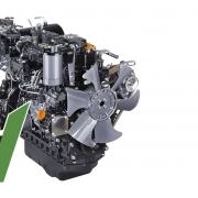 Yanmar YT 235H kompakttraktor med Stage 5 motor