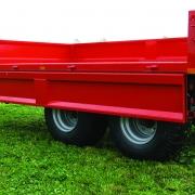 MI Tip Hobby Farmer 8 tons tipvogn