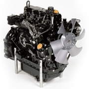 Yanmar 3-cylindret motor