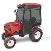 Yanmar SA 424 4WD kompakttraktor med kabine